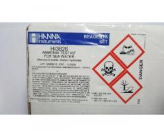 Kit Prueba De Amoniaco Agua Marina Hanna Instruments Hi3826