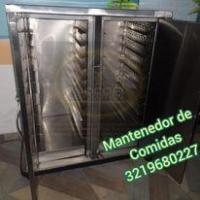 MANTENEDOR DE COMIDAS EN ACERO QUIRUGICO