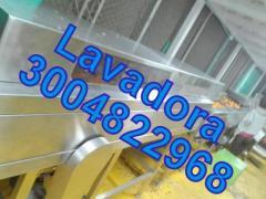 LAVADORA SELECCIONADORA DE FRUTAS