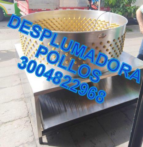 DESPLUMADORAS DE AVES- POLLOS GALLINAS - 1/1