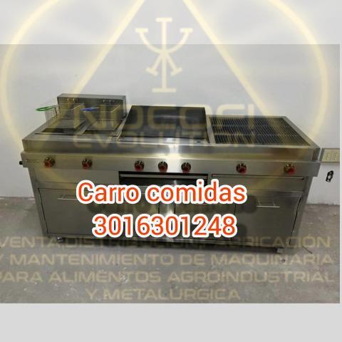 CARRO DE COMIDAS RAPIDAS VITRINAS - 1/1