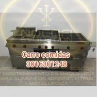CARRO DE COMIDAS RAPIDAS VITRINAS