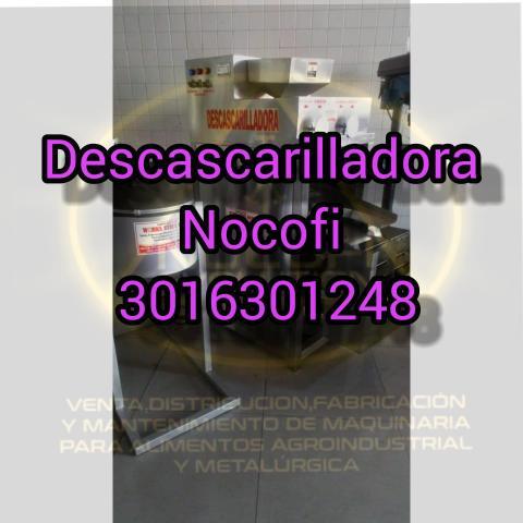 DESCASCARRILLADOR CLASIFICADORA DE CACAO - 1/1