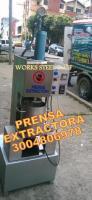 prensa extractora manteca cacao