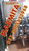 MARMITA EN ACERO ELECTRICA Y GAS