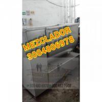 MEZCLADOR EN ACERO