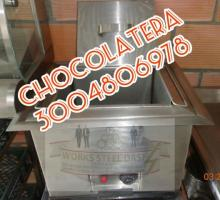 chocolatera, bañomaria